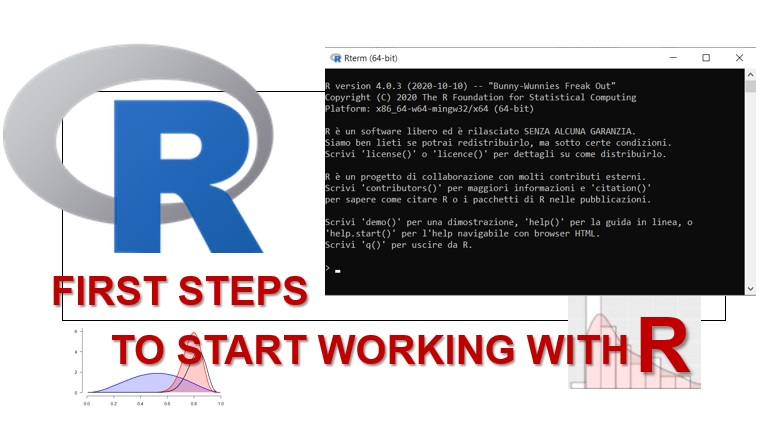 First steps with R