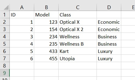 R - models 2 on csv