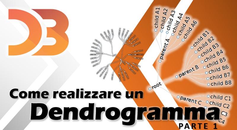 D3 - come realizzare un dendrogramma parte 1