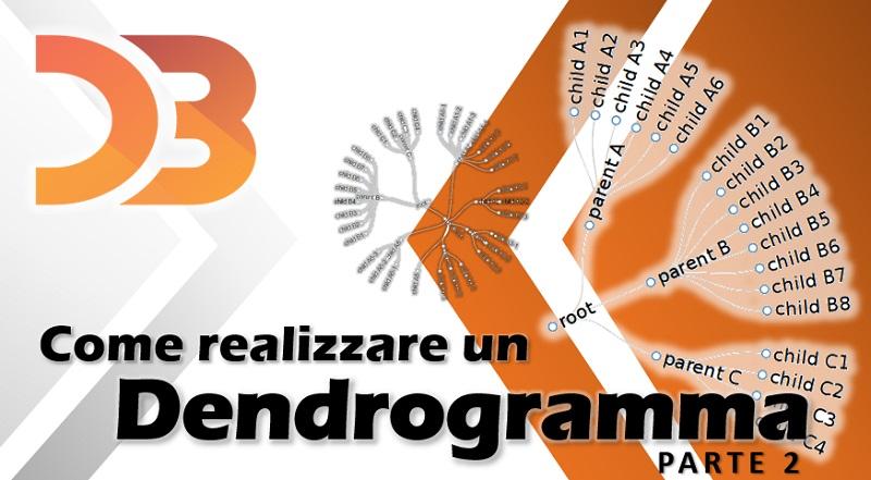 D3 - come realizzare un dendrogramma parte 2