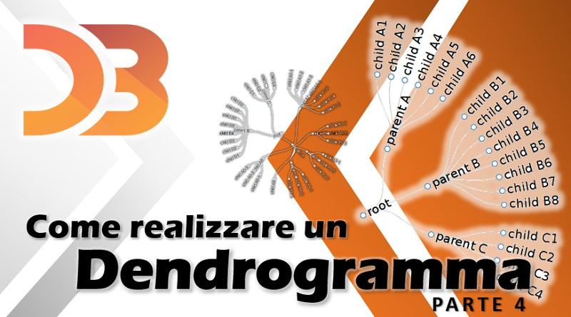 D3 - come realizzare un dendrogramma parte 4