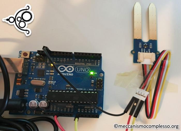 Arduino and Moisture Sensor